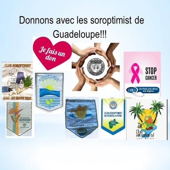 Donnons avec les Soroptimist de Guadeloupe