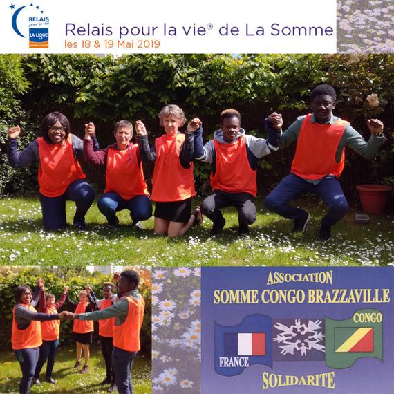 Somme Congo Brazzaville court le Relais pour la vie de la Ligue contre le cancer