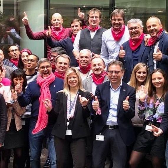 Cisco France Goes Pink