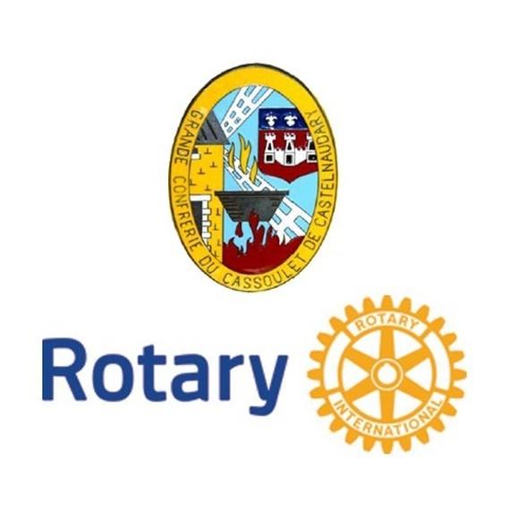 Grande confrérie du Cassoulet et Rotary club de Castelnaudary