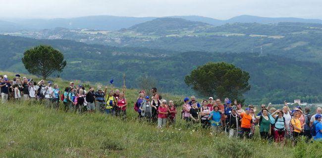 Marcheurs de la haute vallée de l'Aude