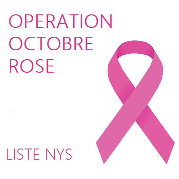 Collecte opération Octobre Rose contre le cancer (NYS)