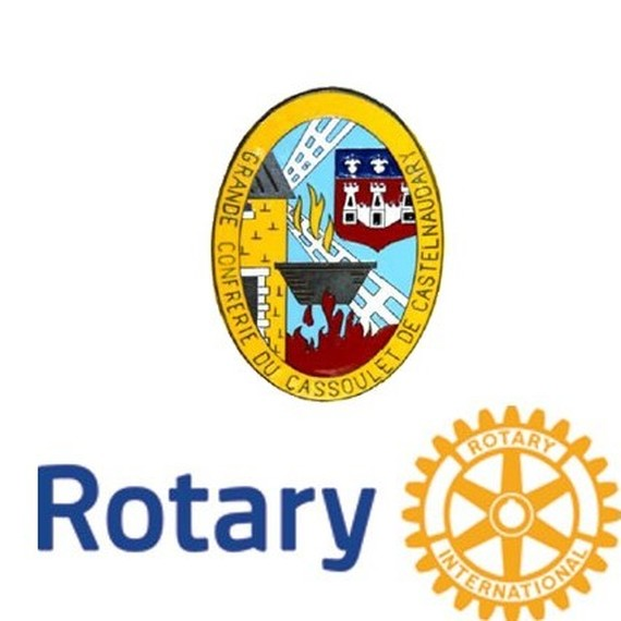 Grande Confrérie du Cassoulet et Rotary club de Castelnaudary équipe n°2