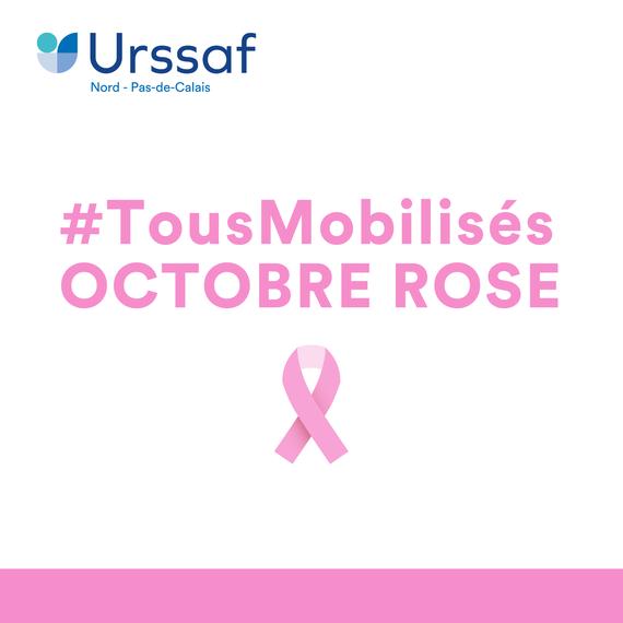 Urssaf Nord - Pas-de-Calais - #TousMobilisésPourOctobreRose