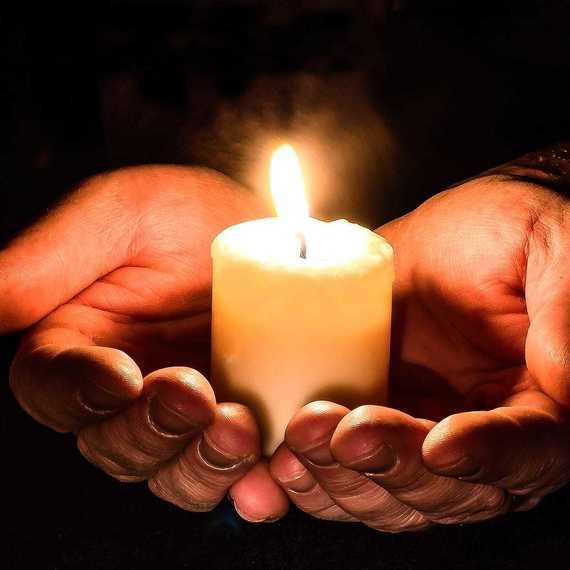 Don pour La Ligue contre le Cancer - Obsèques M. May