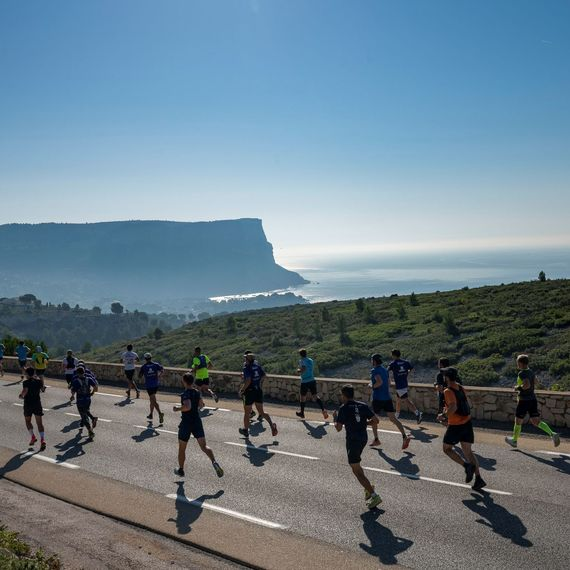 Semi Marathon du Marseille/Cassis pour la recherche contre le cancer