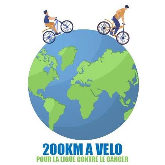 200km à vélo